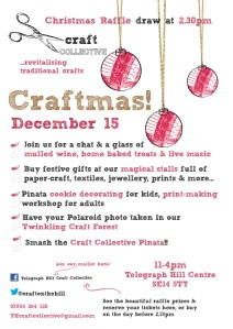 Craft Collective - 15th December, Telegraph Hill Centre