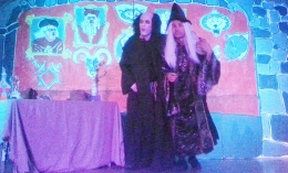Puss in Boots - December 2013 - Ogre and Wizard conspire