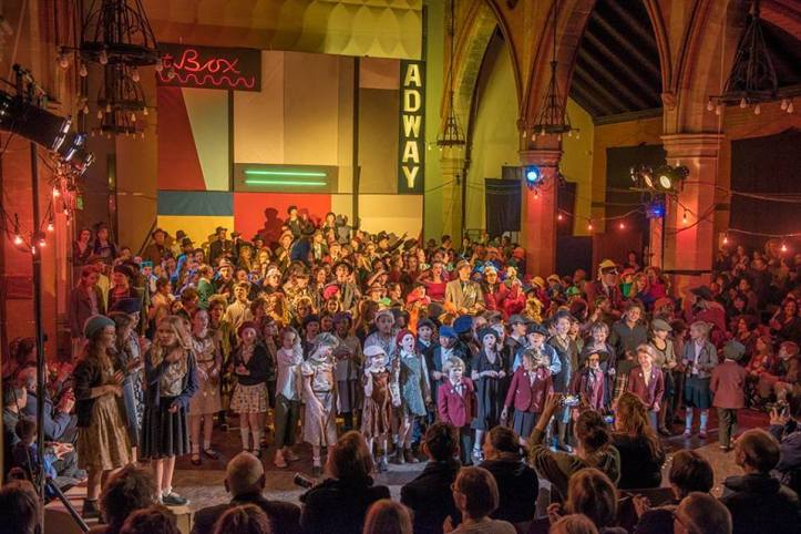 Guys & Dolls - St Catherine's Church - Telegraph Hill Festival 2015